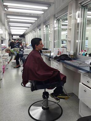 Jared chez le coiffeur